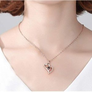 Jewelry - 100 Languages Sterling Silver Pearl Pendant
